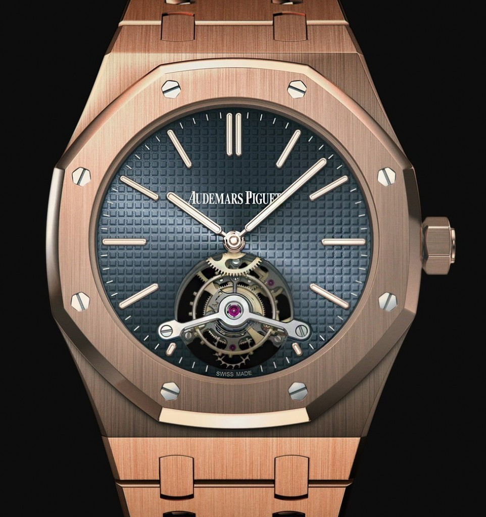 1. Audemars Piquet Royal Oak Tourbillon DLC