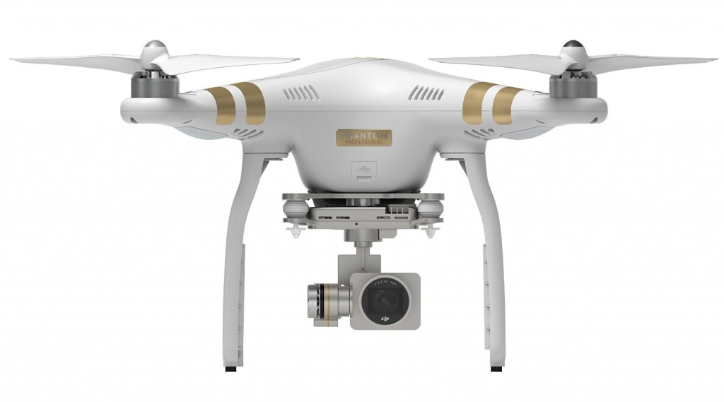 5 DJI Phantom 3 Professional Quadcopter Drone with 4K UHD Video Camera