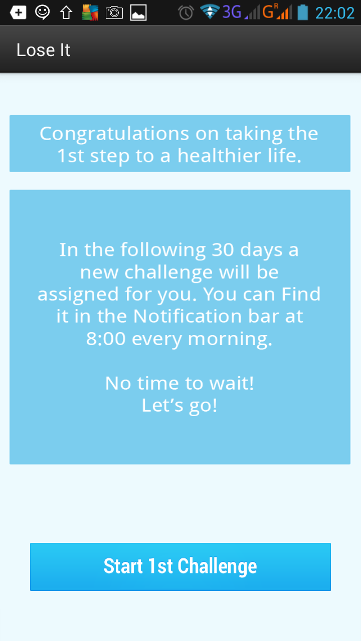 loseit screenshot