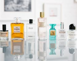 Collection of men's fragrances