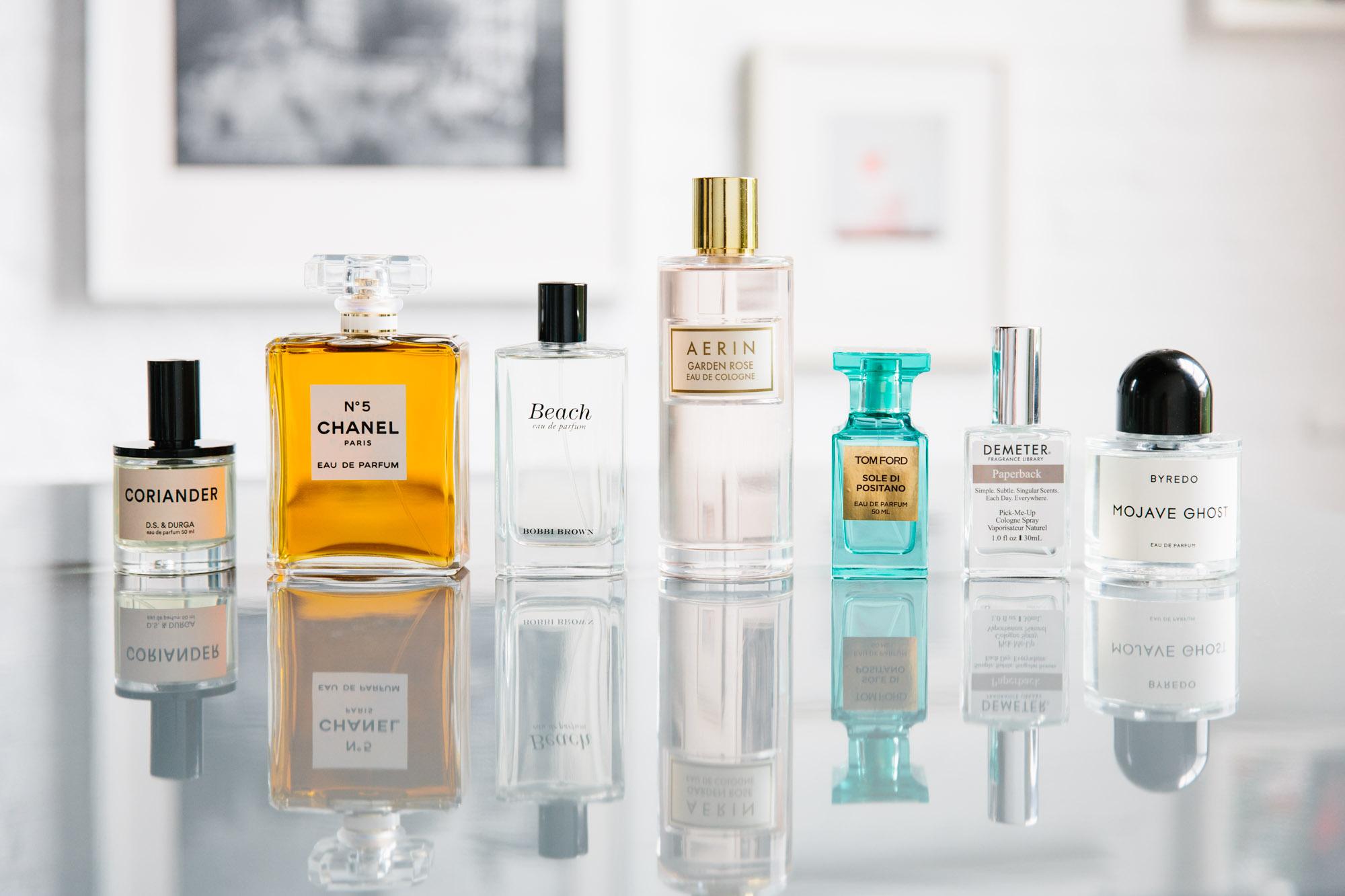 Collection of men's fragrances