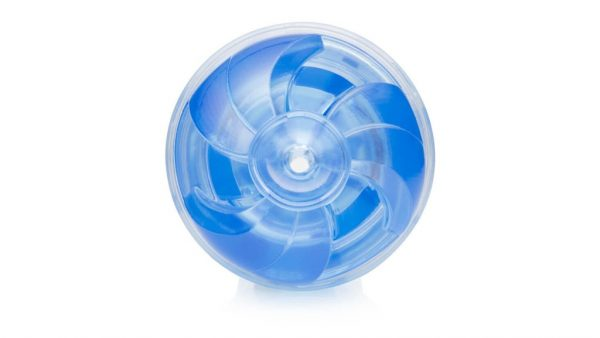 Vortex entry shaped Fleshlight Turbo Thrust blue ice